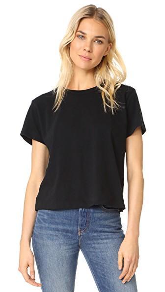 Liana Clothing Margo Standard Tee In Black
