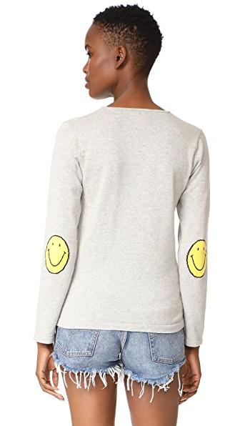 One By Smile Sweater In Heather Grey