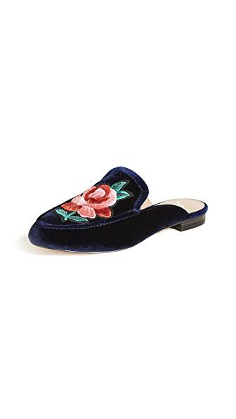 The Fix Fay 2 Mules In Midnight Navy