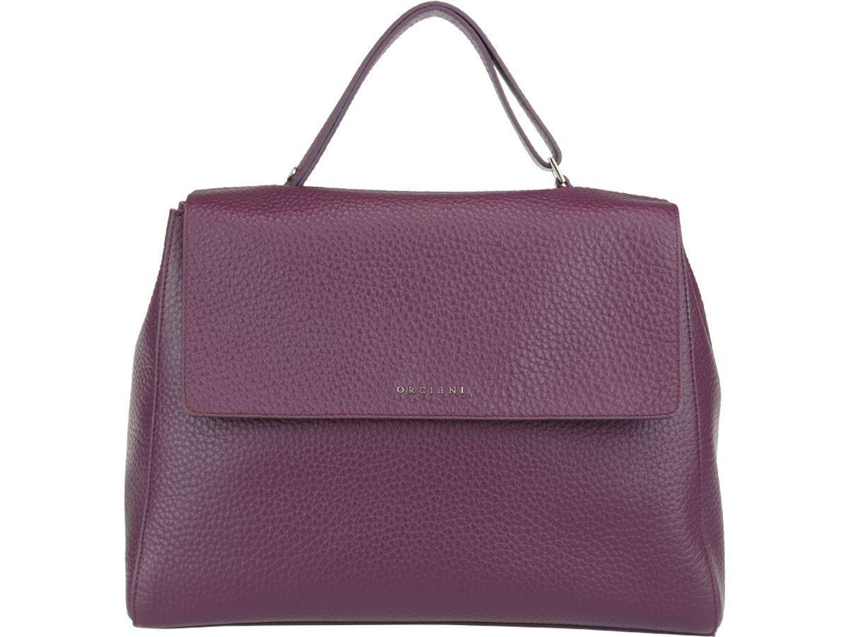 Orciani Sveva Bag In Purple