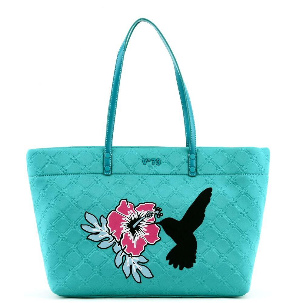 V73 V°73 Bag In Turchese