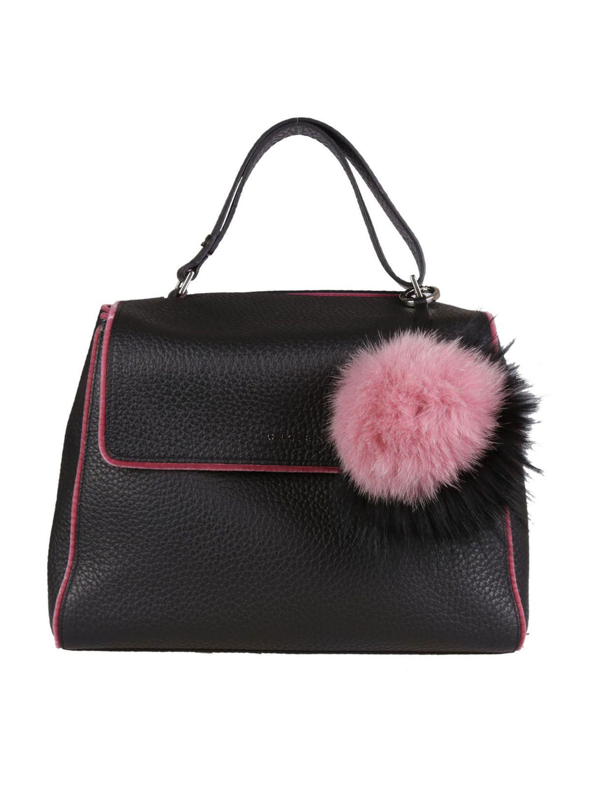 Orciani Pompom Soft Lined Tote