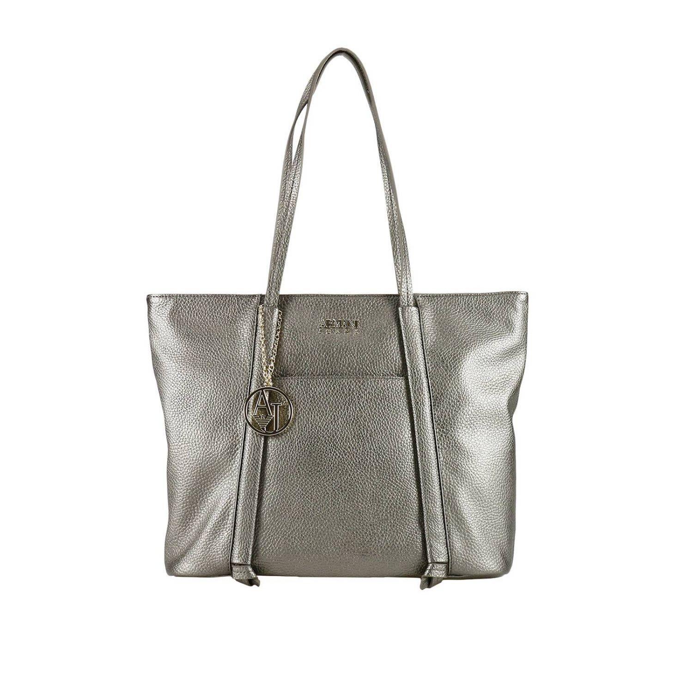 Armani Jeans Shoulder Bag Shoulder Bag Women  In Lead