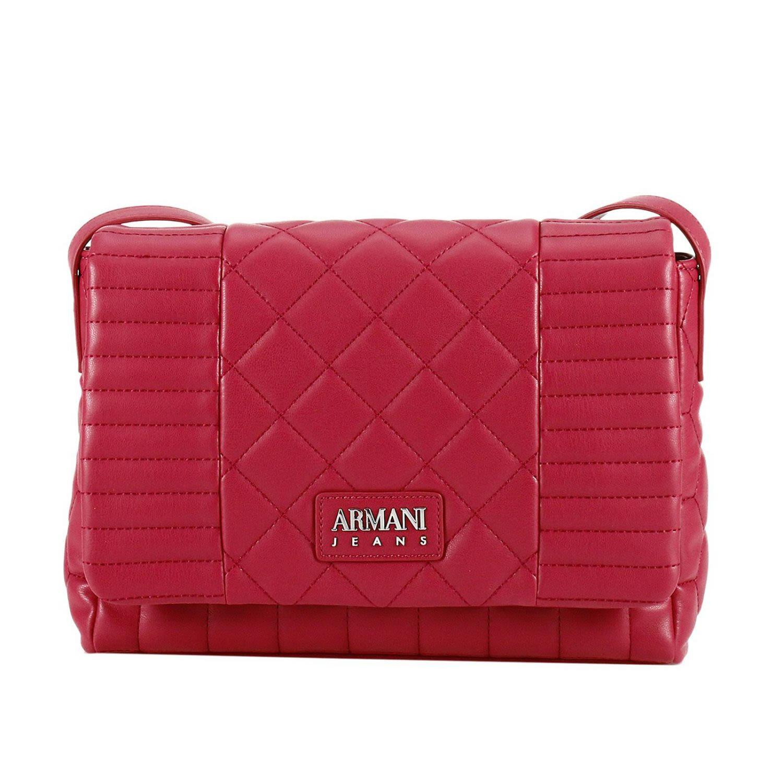 Armani Jeans Crossbody Bags Shoulder Bag Women  In Red
