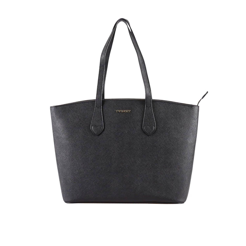 Twinset Shoulder Bag Shoulder Bag Women Twin Set In Black