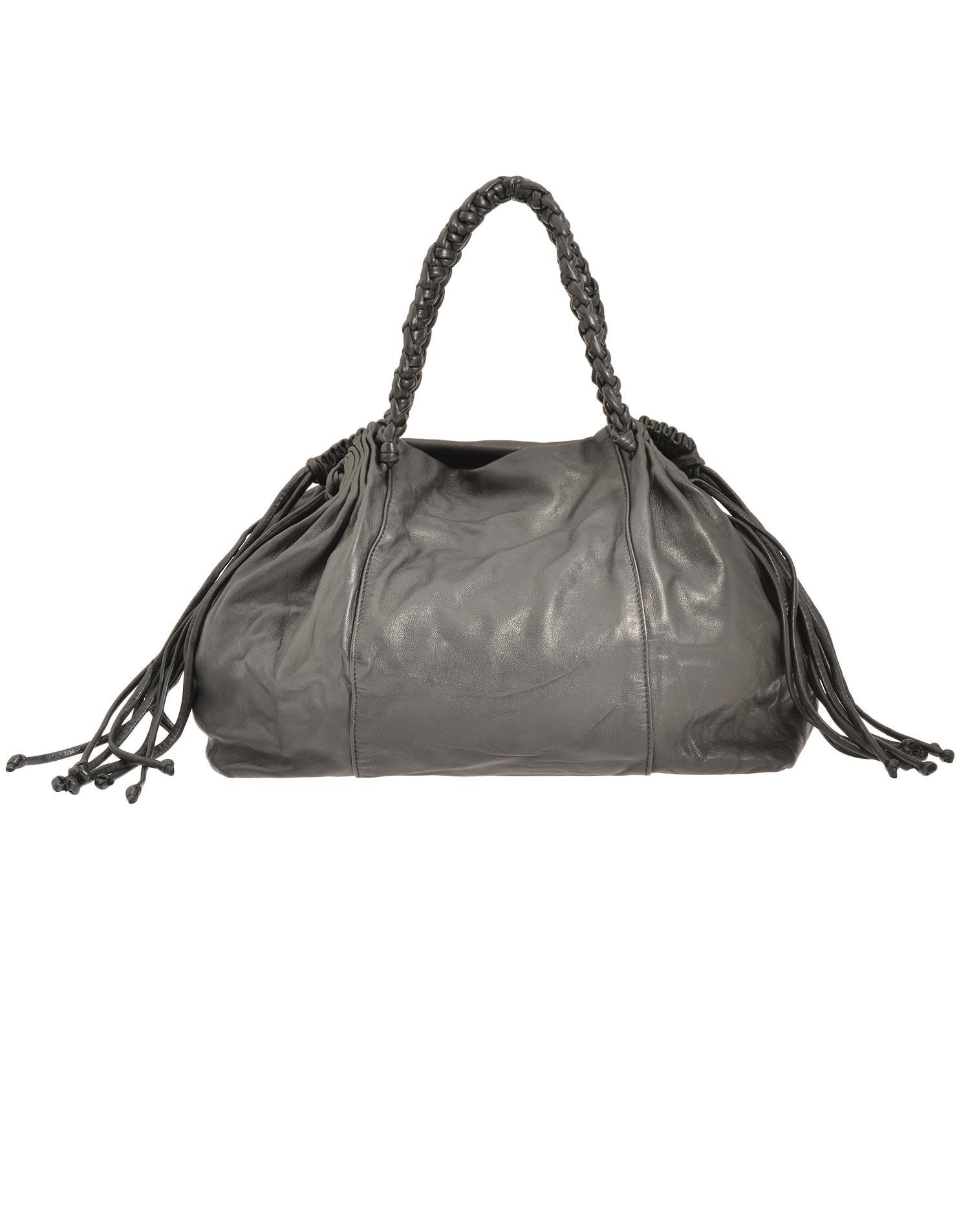 Giorgio Brato Baloon Bag In Black