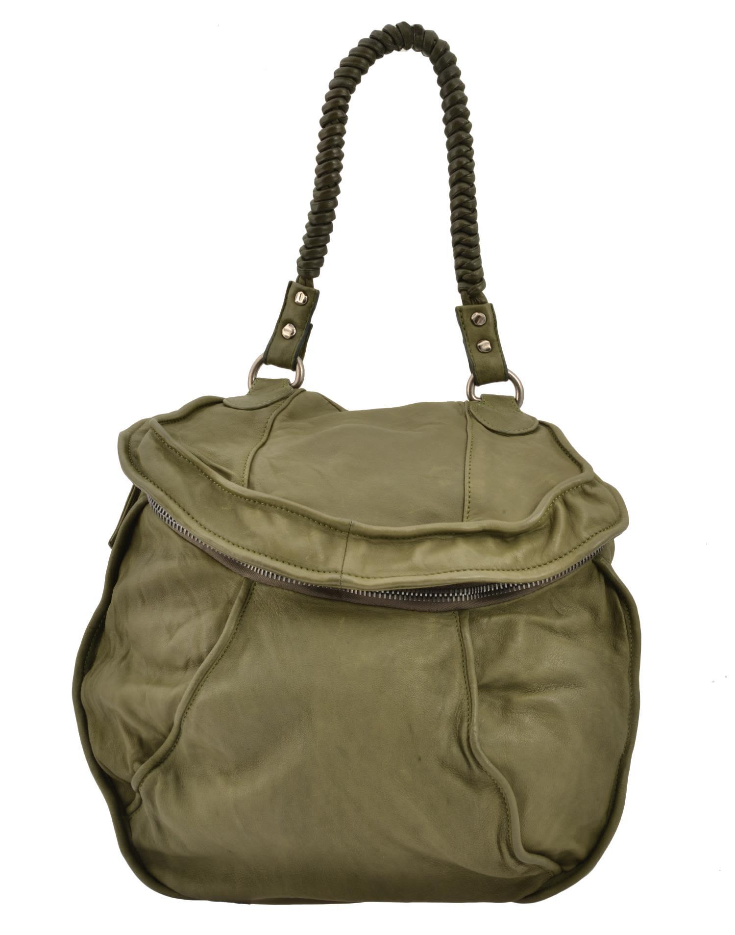 Giorgio Brato Vegetable Leather Bag In Green