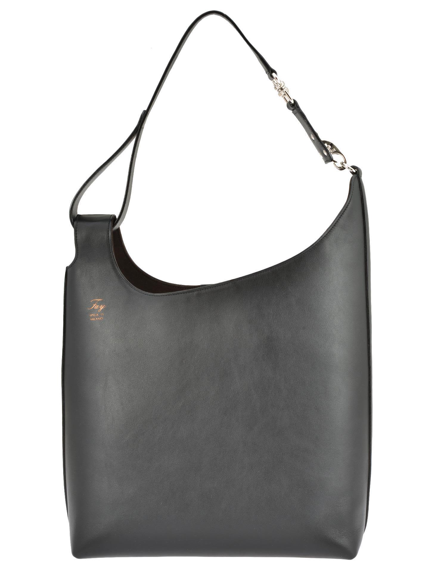 Fay Hobo Bag In Black