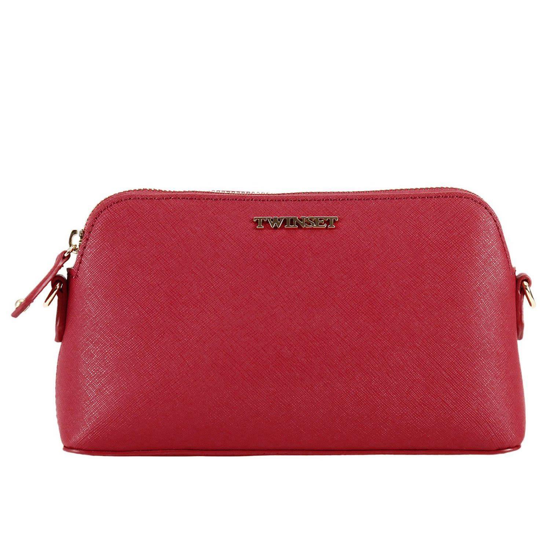 Twinset Mini Bag Shoulder Bag Women Twin Set In Red