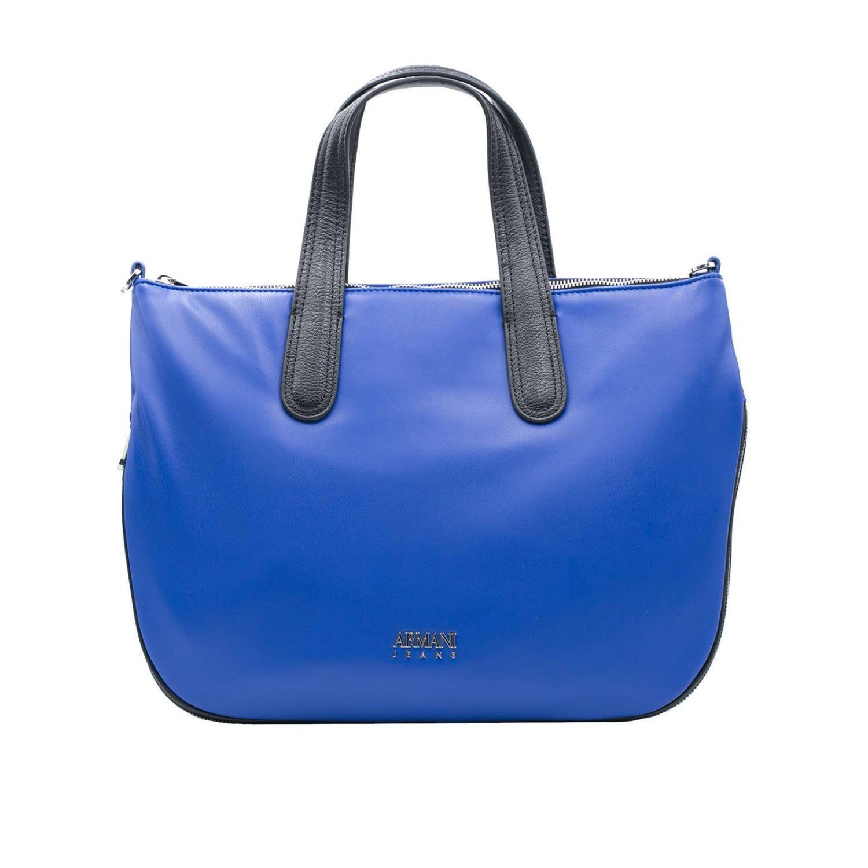 Armani Jeans Handbag Shoulder Bag Women  In Blue 1