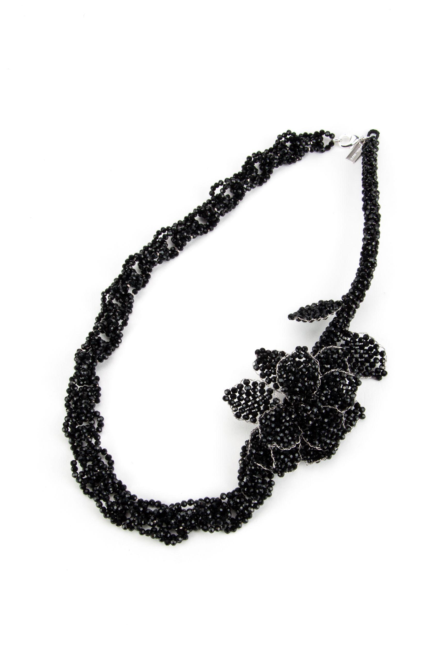 Night Market Chain Necklace In Blacknero