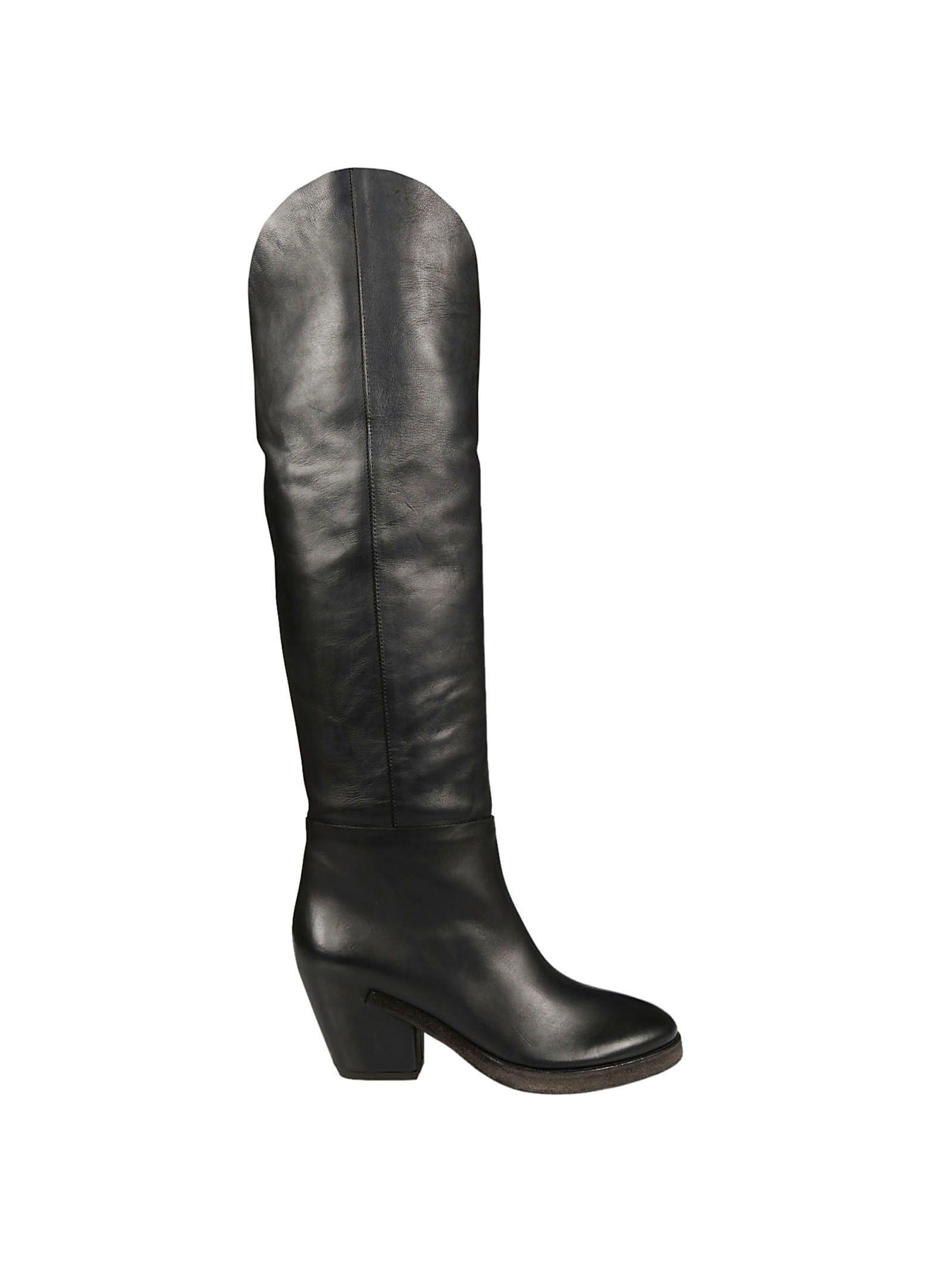 Roberto Del Carlo 10417 Boots In Black