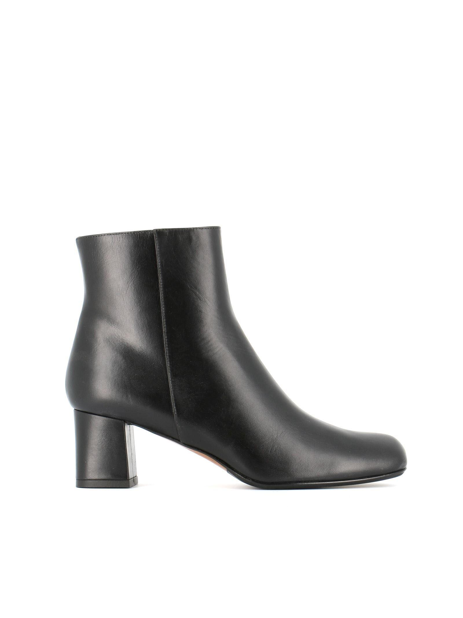 Antonio Barbato Mj298 Ankle Boots In Black