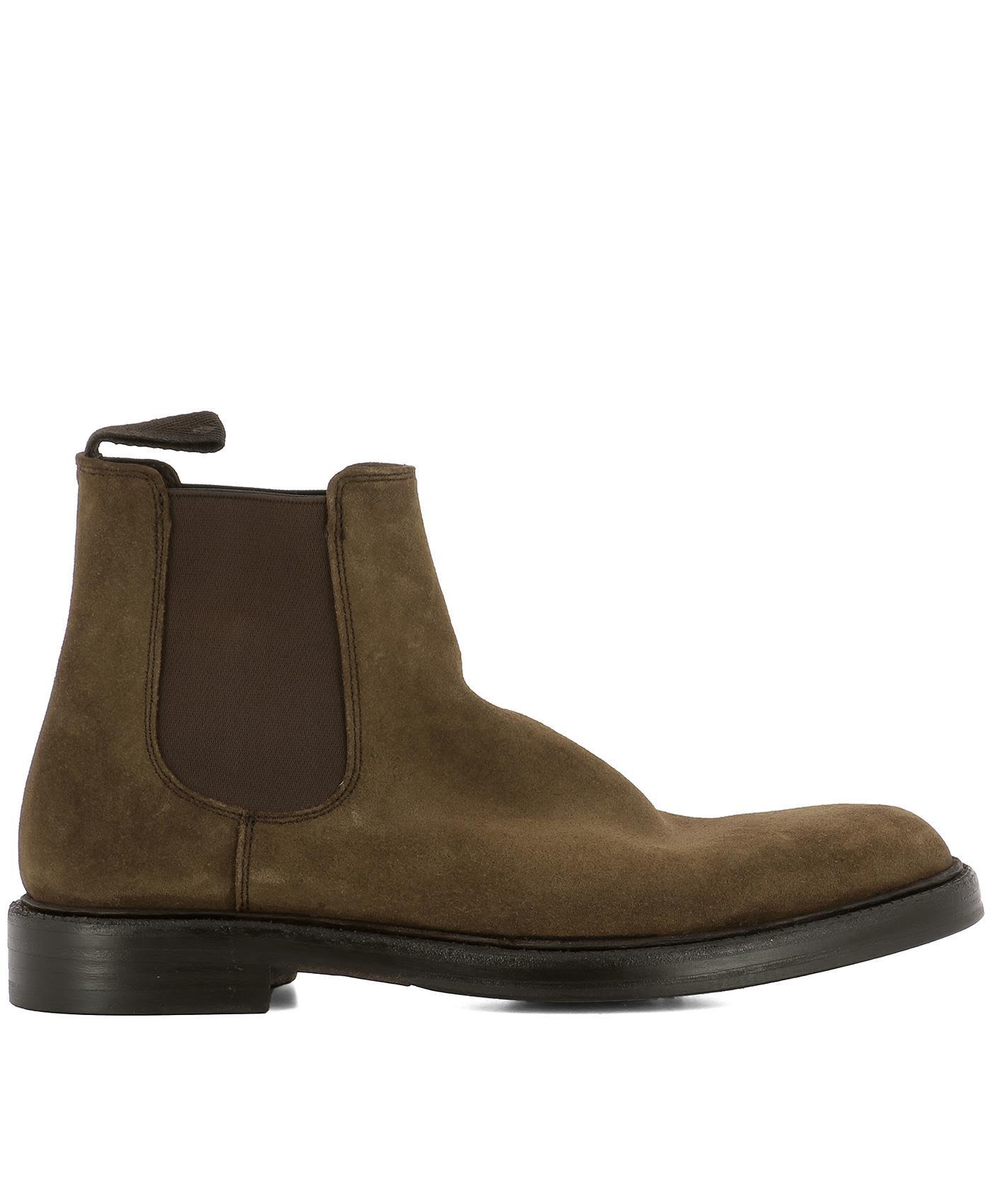 Green George Brown Suede Ankle Boots