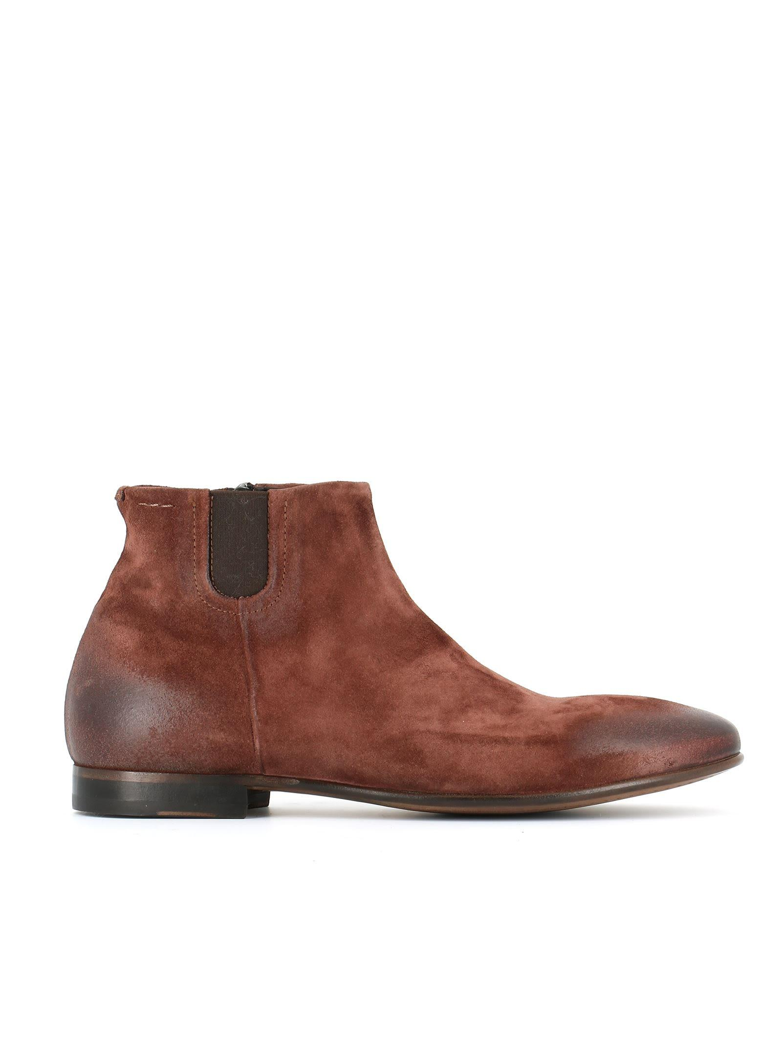Alexander Hotto Ankle Boots In Brown