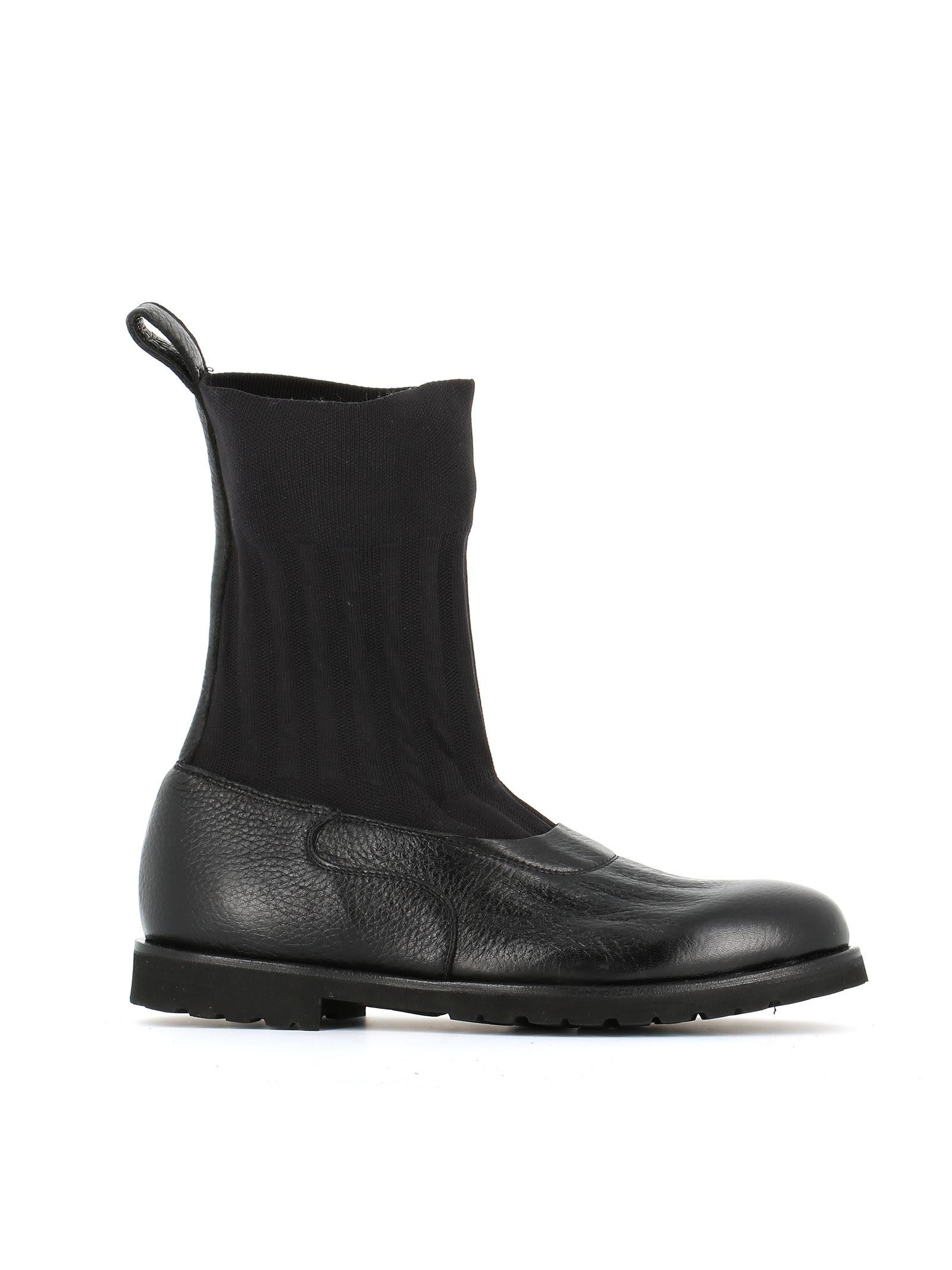 Rocco P. 3596t-12 Ankle Boots In Black