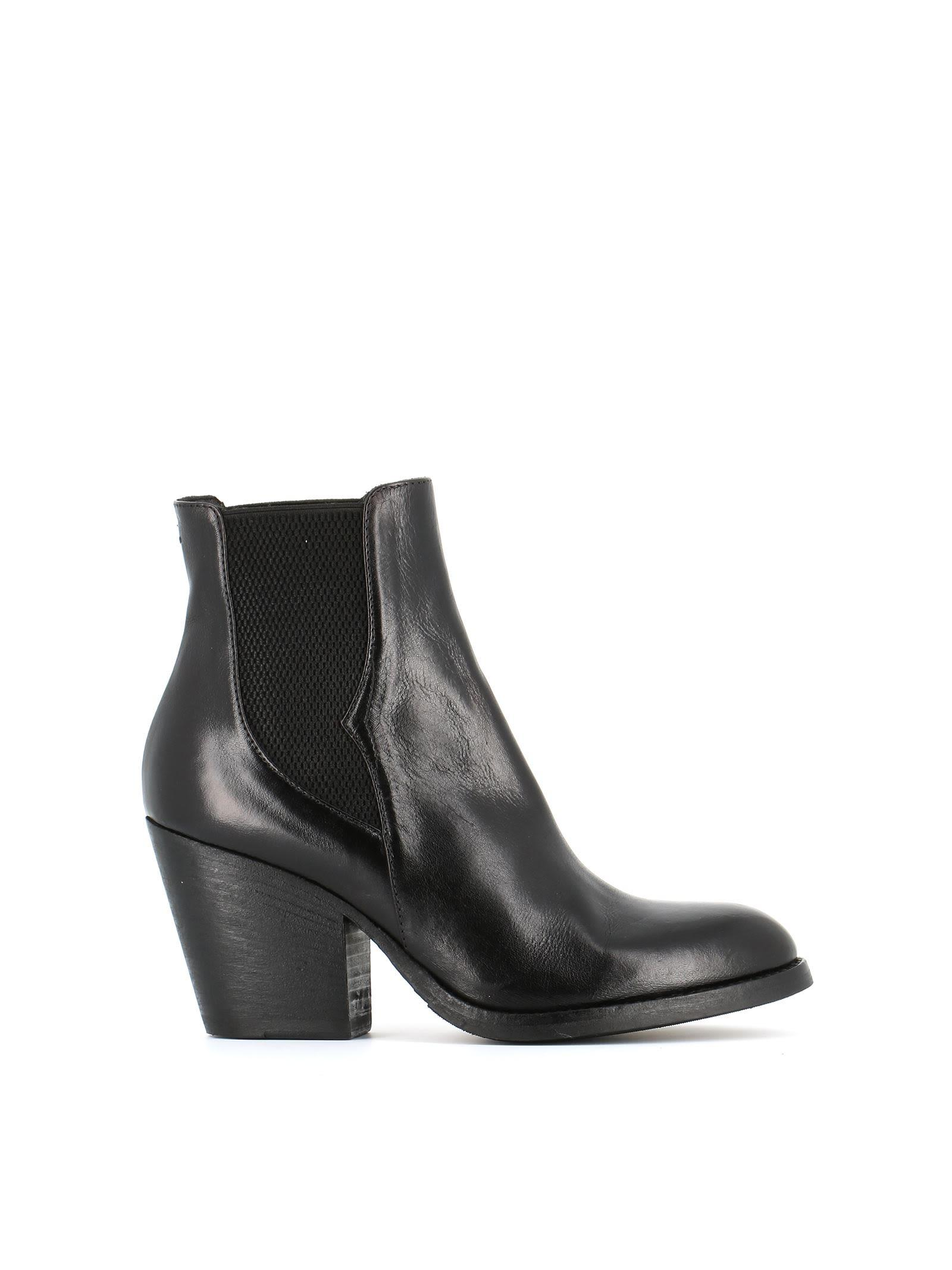 Pantanetti 10689d Ankle Boots In Black
