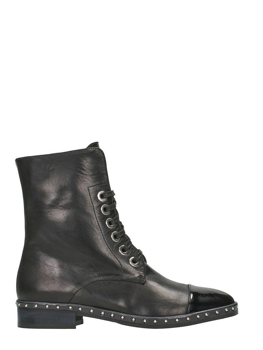 Marc Ellis Black Leather Boots