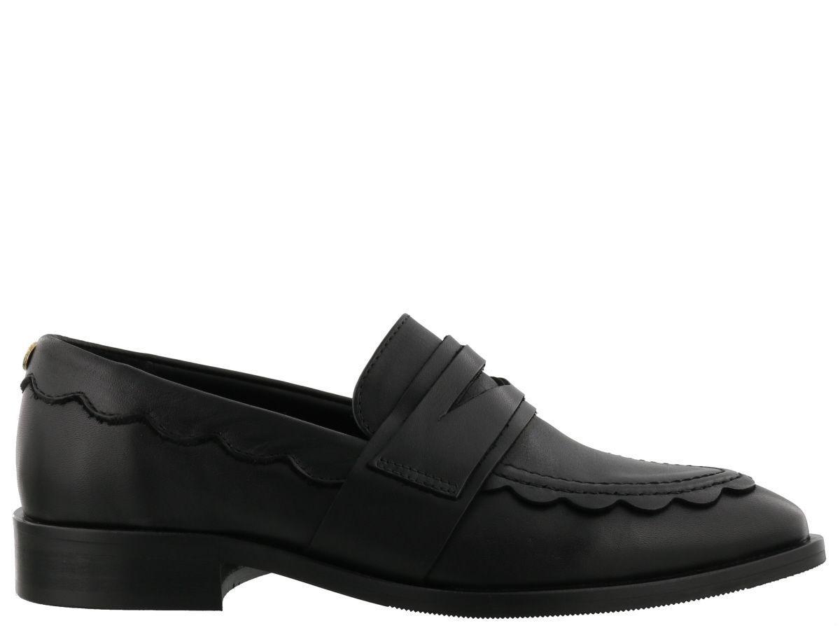 Liu •jo Liu-jo Lauper Loafers In Black
