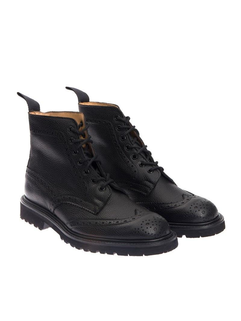 Trickers Boot In Black