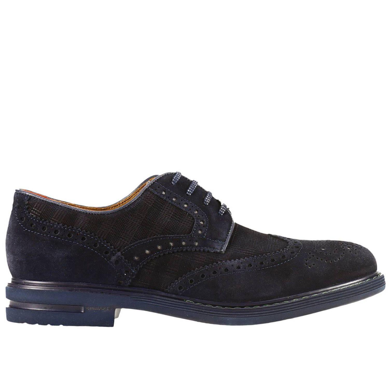 Brimarts Brogue Shoes Shoes Men  In Navy