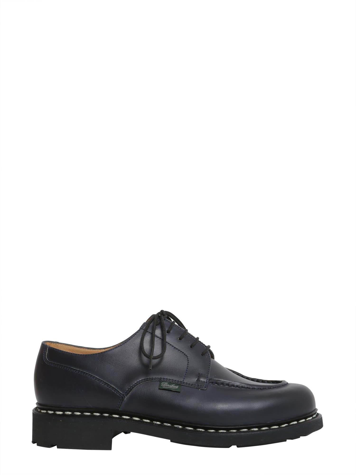 Paraboot Chambord Lace-up Shoes In Blu