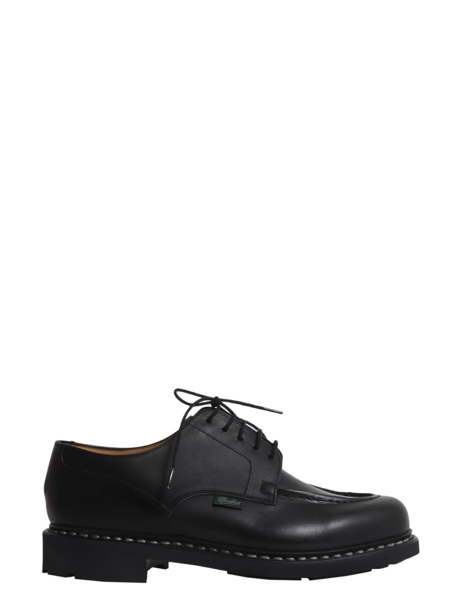 Paraboot Chambord Lace-up Shoes In Nero
