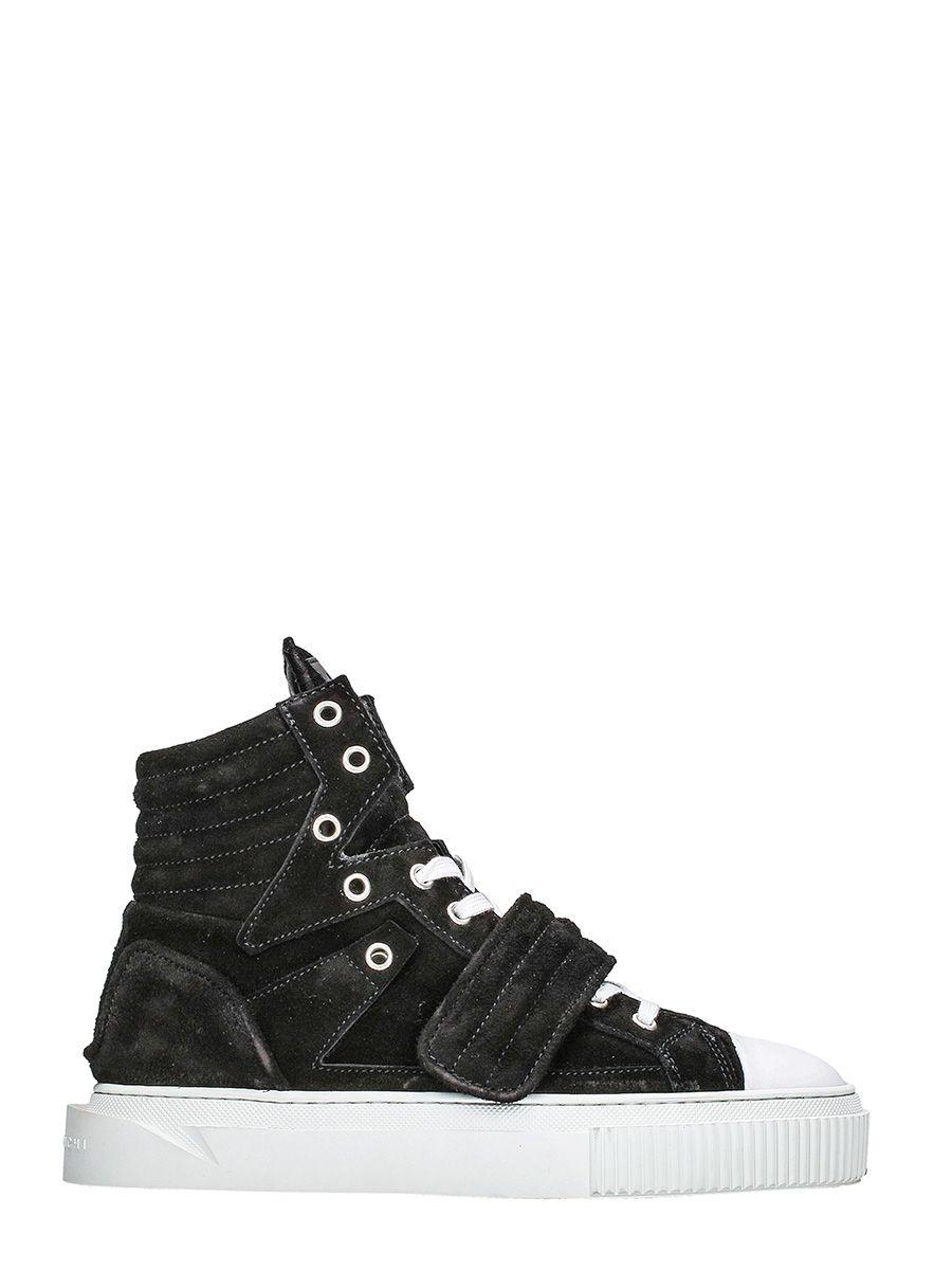 Gienchi Hypnos Black Sneakers