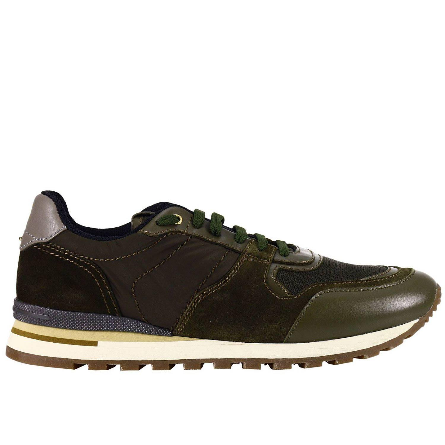 Brimarts Sneakers Shoes Men  In Military