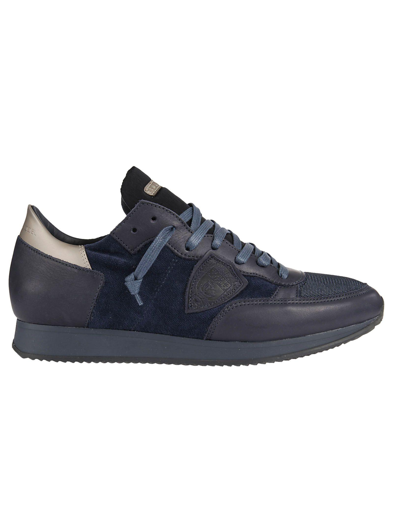 Philippe Model Tonal Sneakers In Bleu