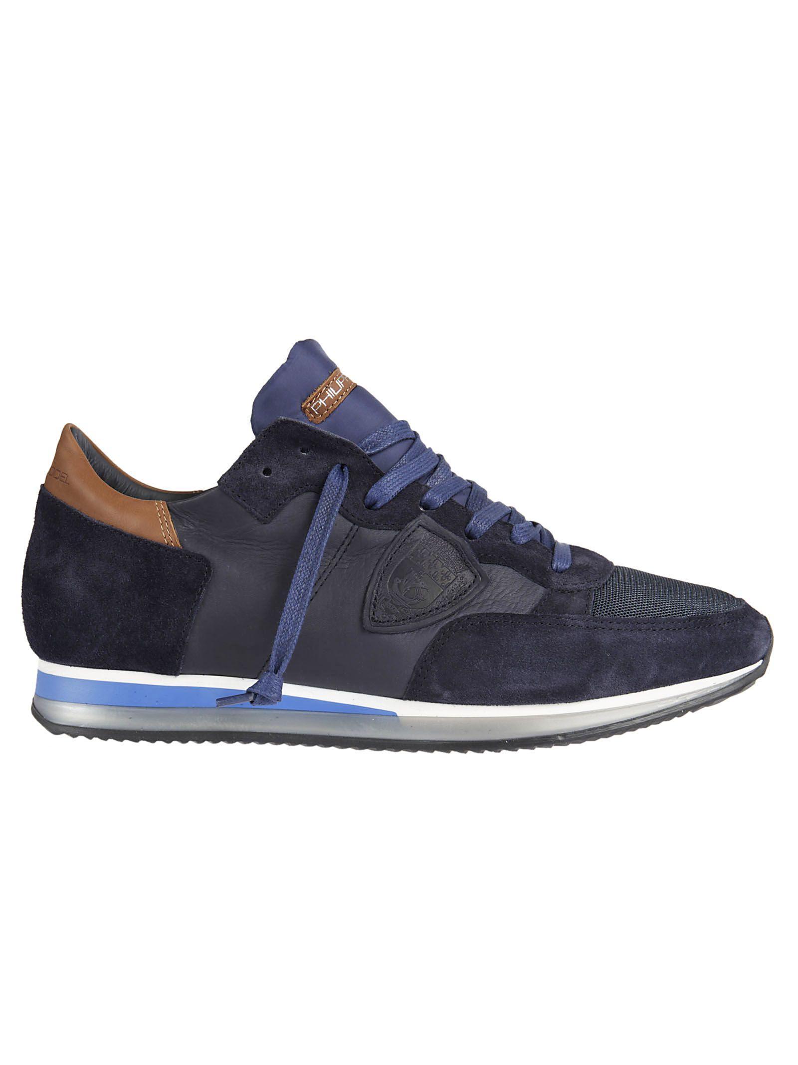 Philippe Model Tropez Sneakers In Blue