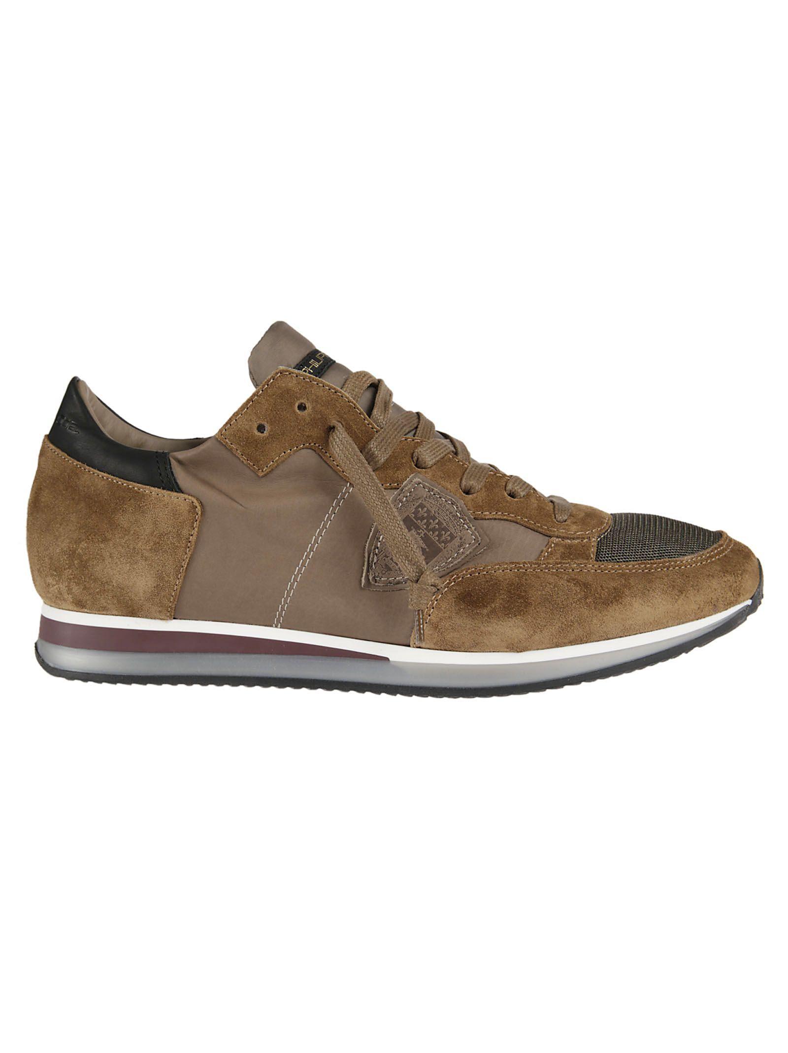 Philippe Model Tropez Sneakers In Brown
