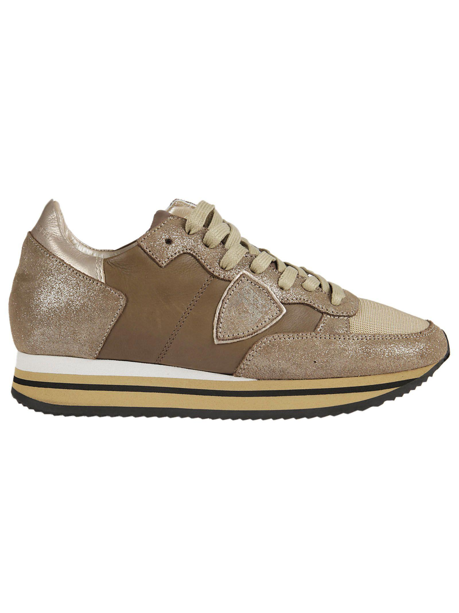 Philippe Model Tropez Sneakers In Mud