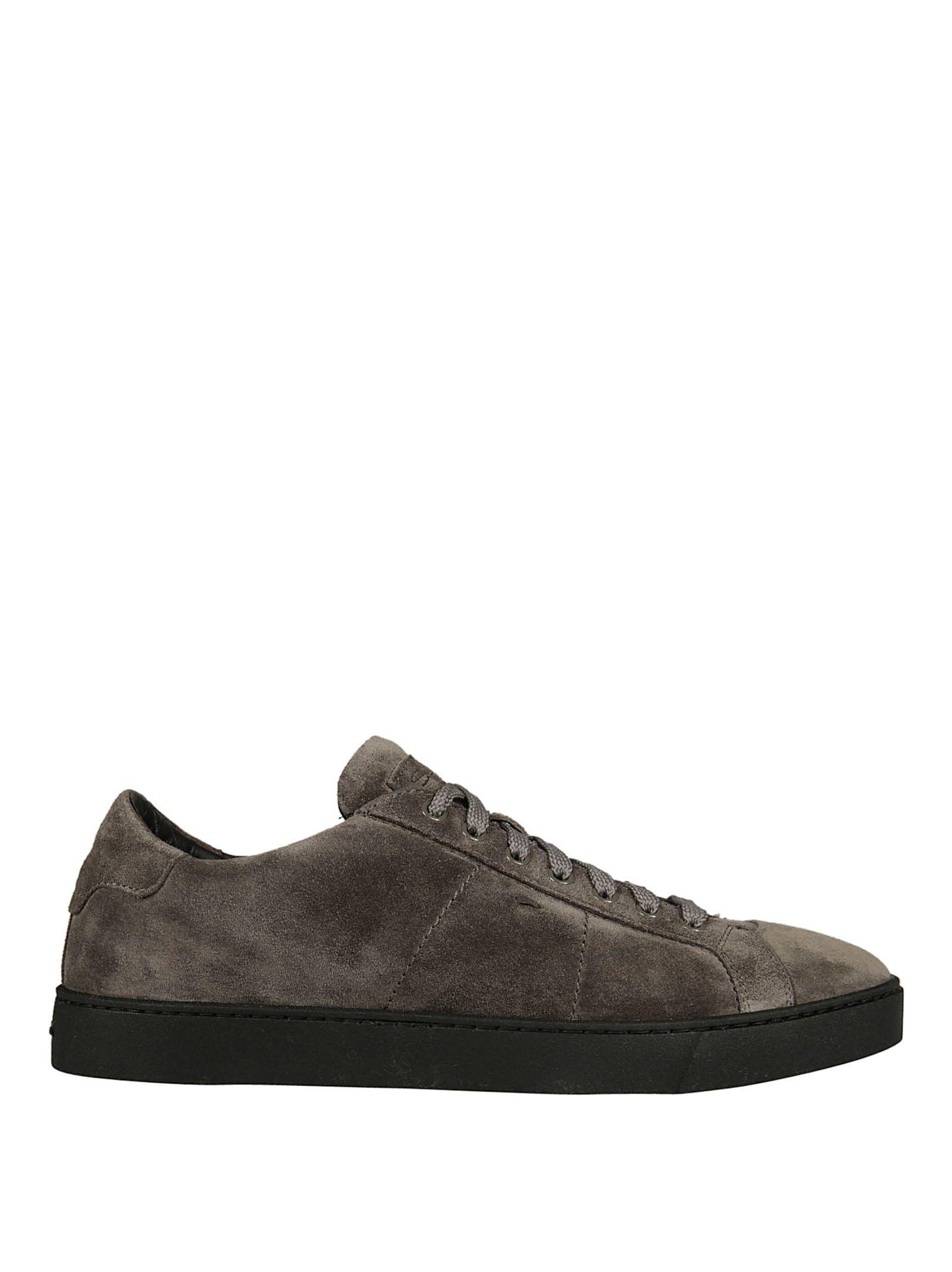 Santoni Sneakers In Grey