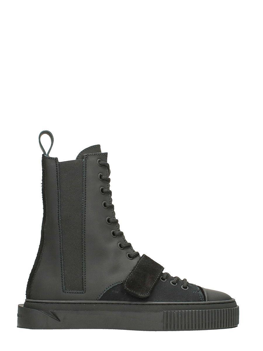 Gienchi Antares Sneaker In Black