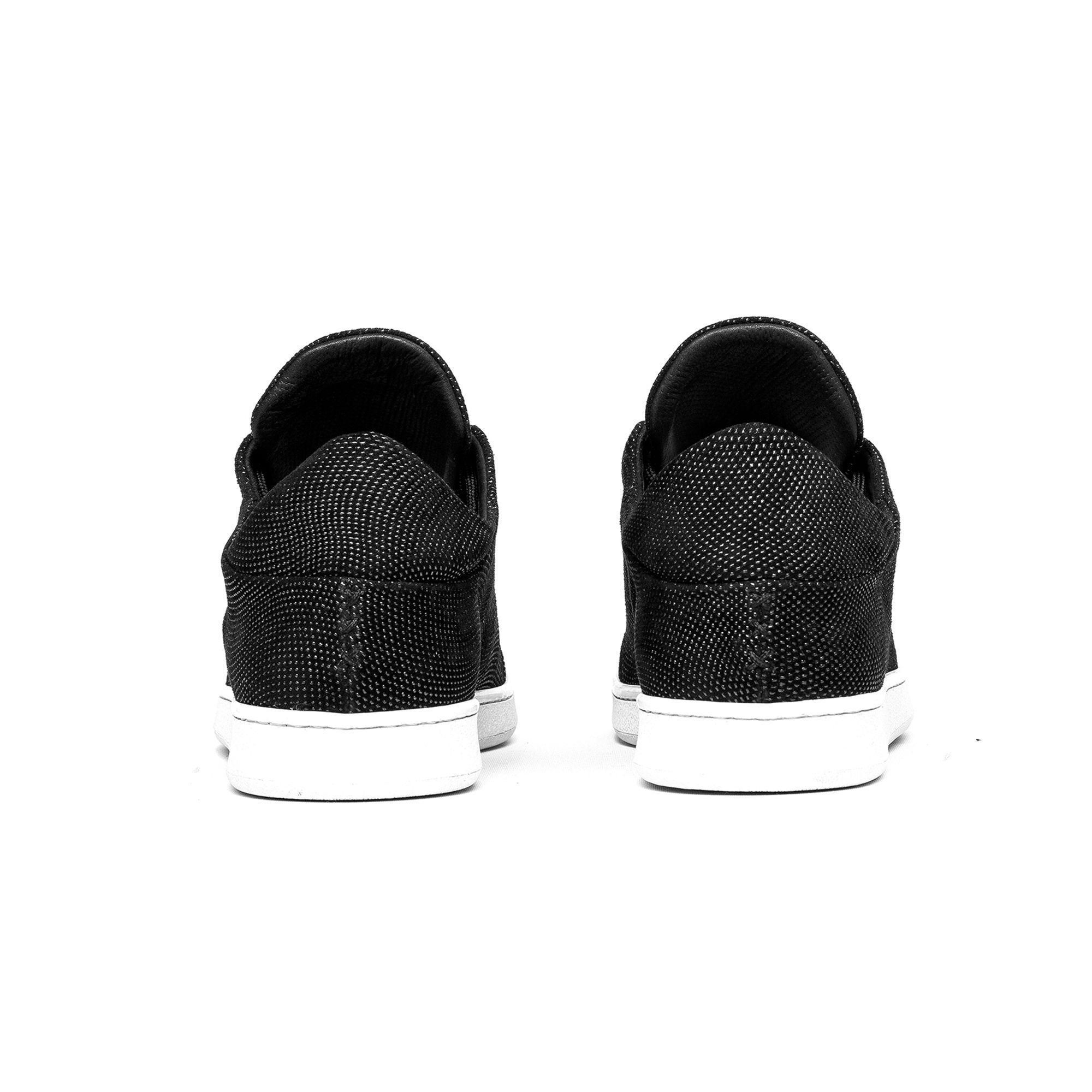 Ylati Footwear Virgilio Low Black Vortex
