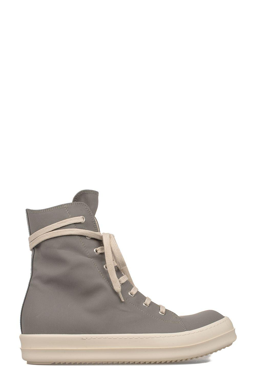 Drkshdw Gray High-top Sneakers