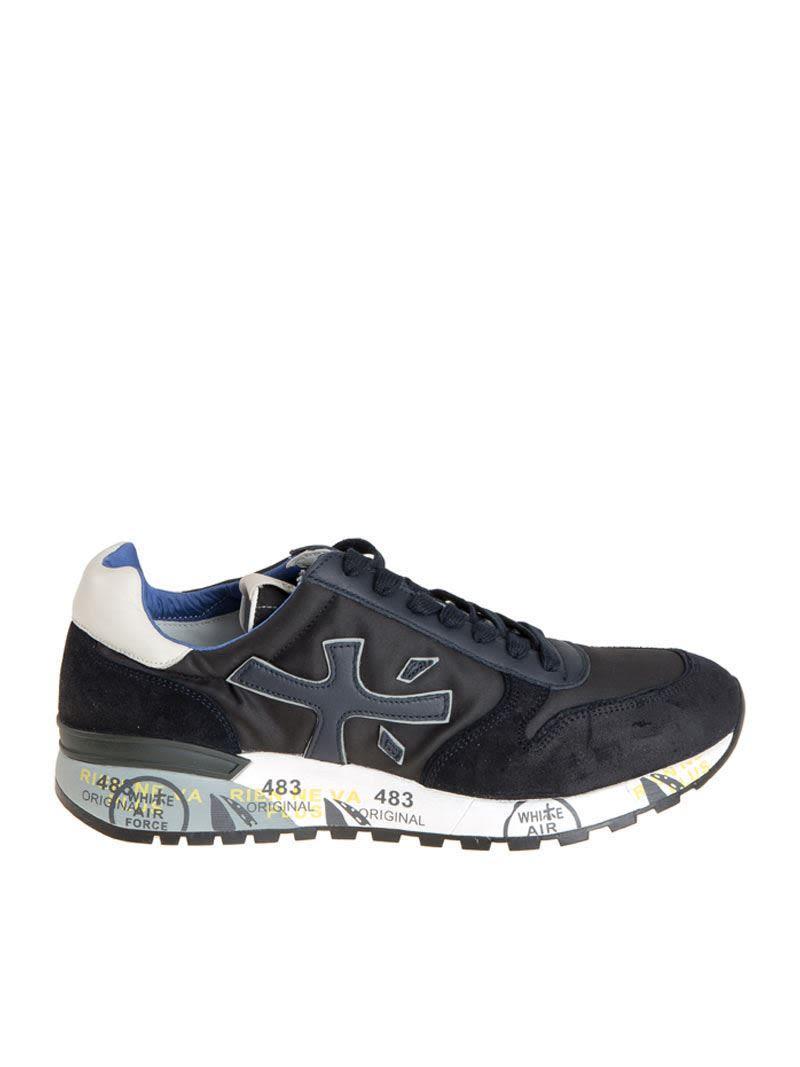 Premiata Mick Sneakers In Blue