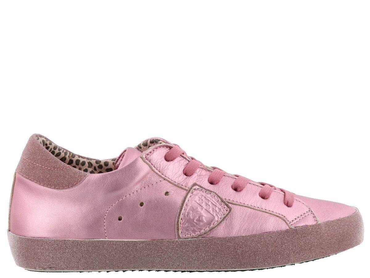 Philippe Model Paris Sneaker In Pink
