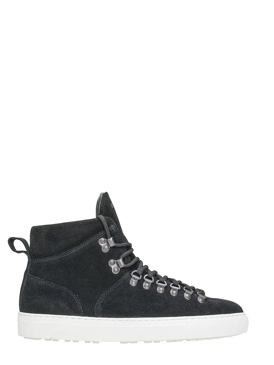National Standard Edition 9 Black Suede Sneakers