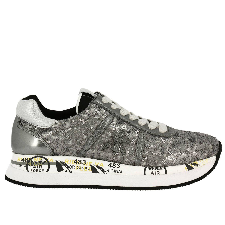 Premiata Sneakers Shoes Women  In Silver