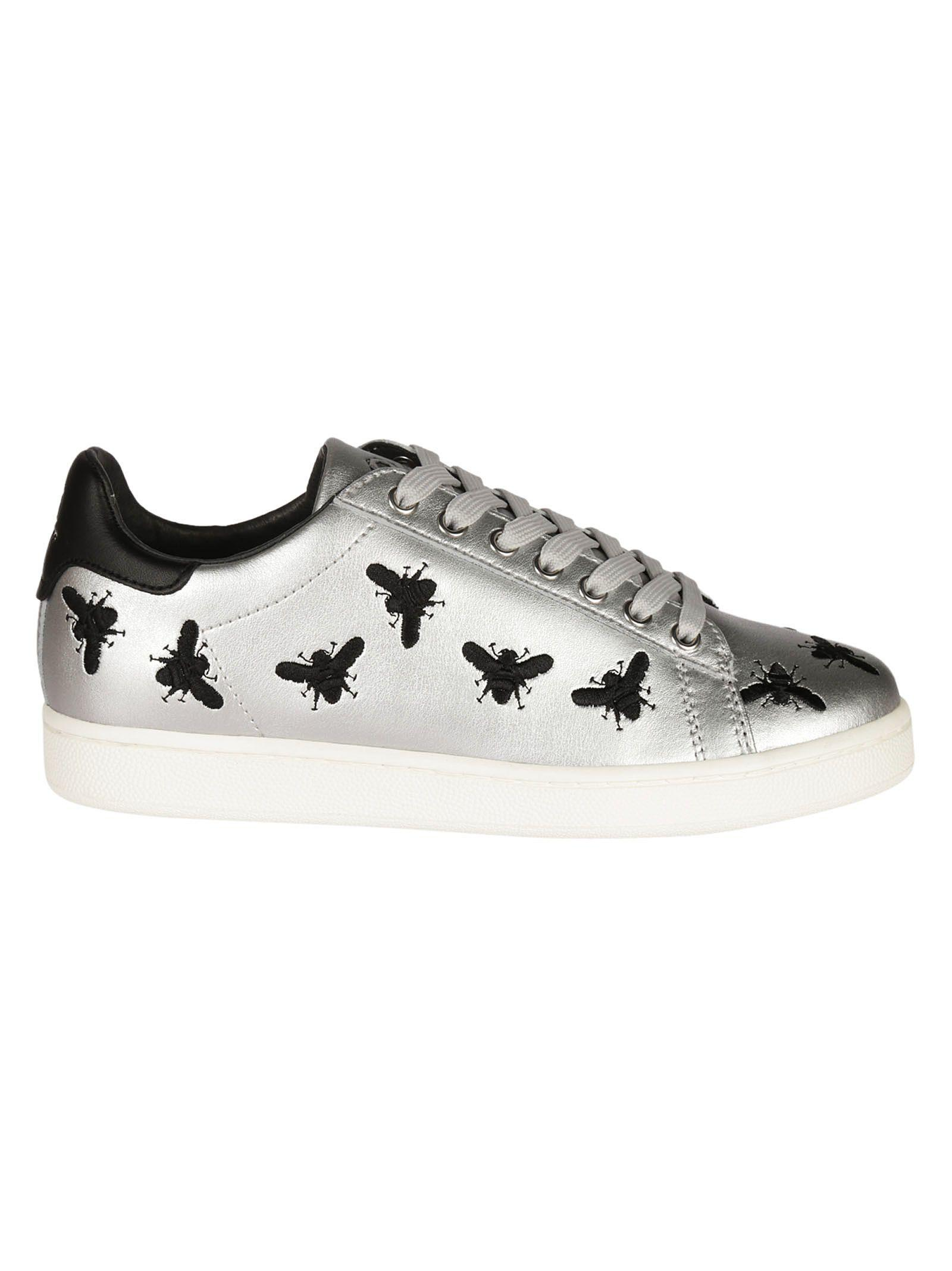 M.o.a. Fly Sneakers In Silver
