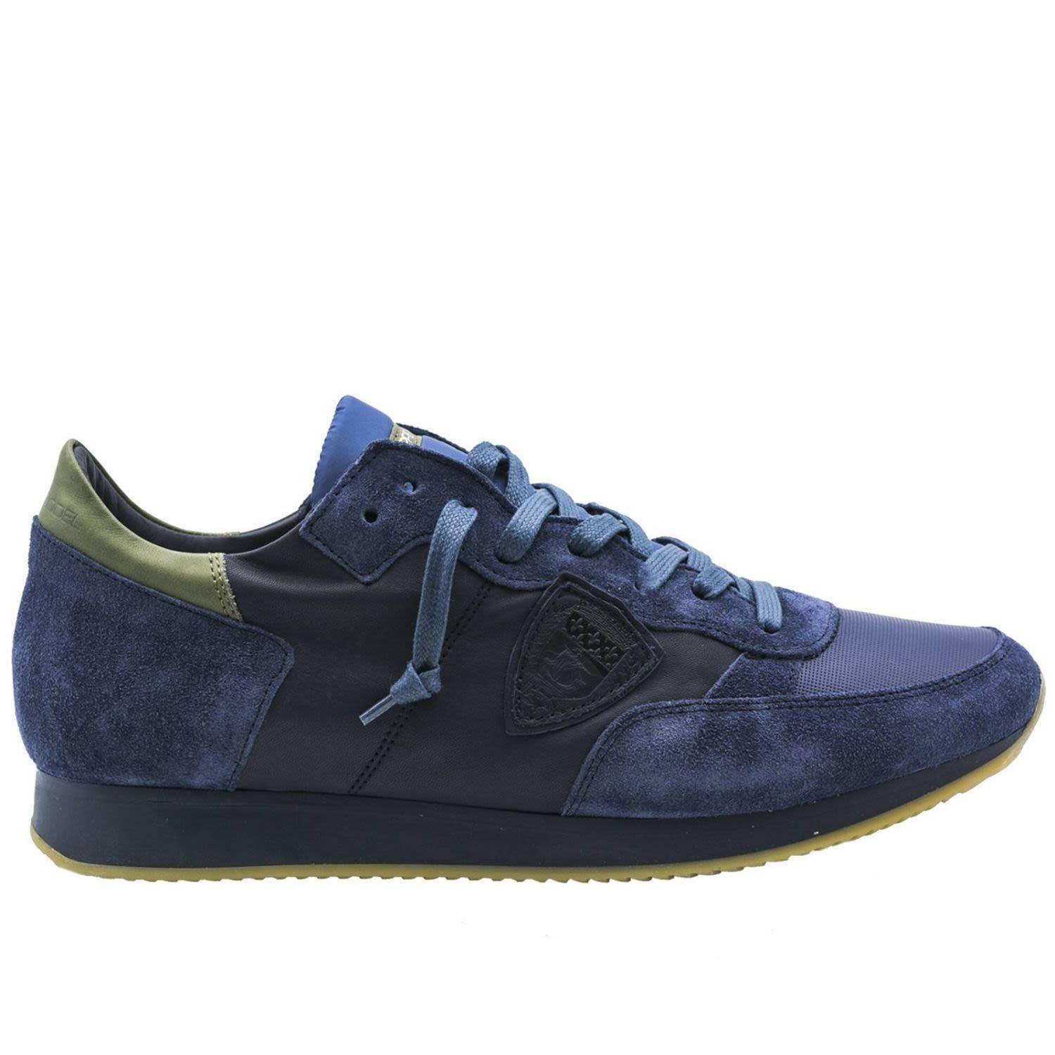 Philippe Model Sneakers Shoes Men  In Blue 2