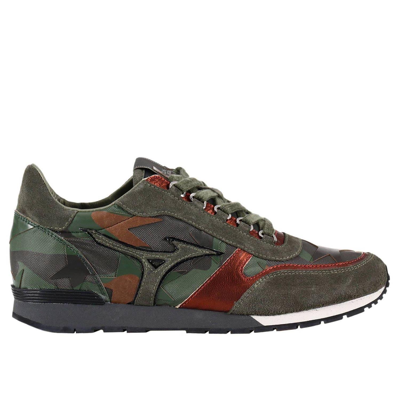 Mizuno Sneakers Shoes Men  In Military