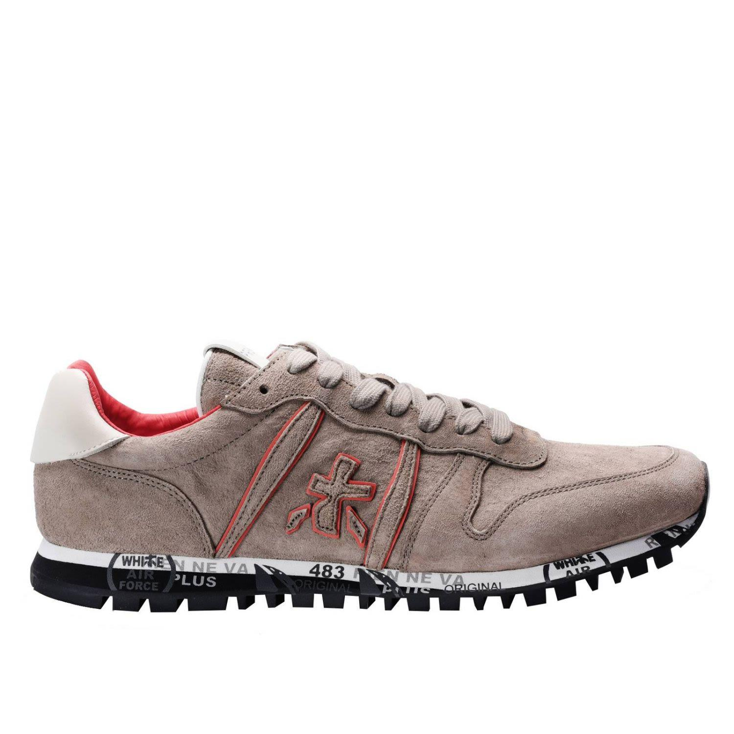 Premiata Sneakers Shoes Men  In Grey