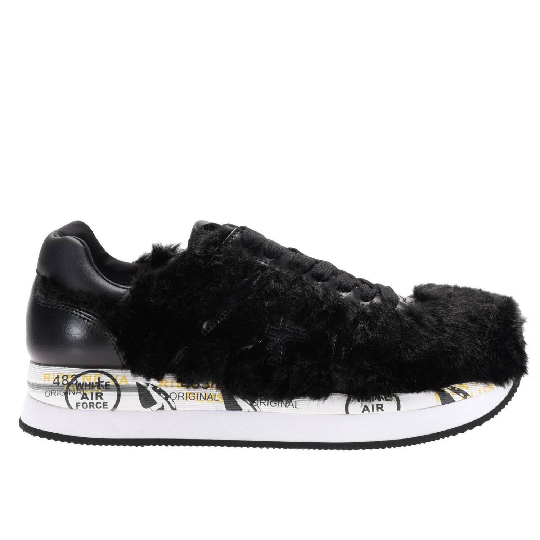 Premiata Sneakers Shoes Women  In Black