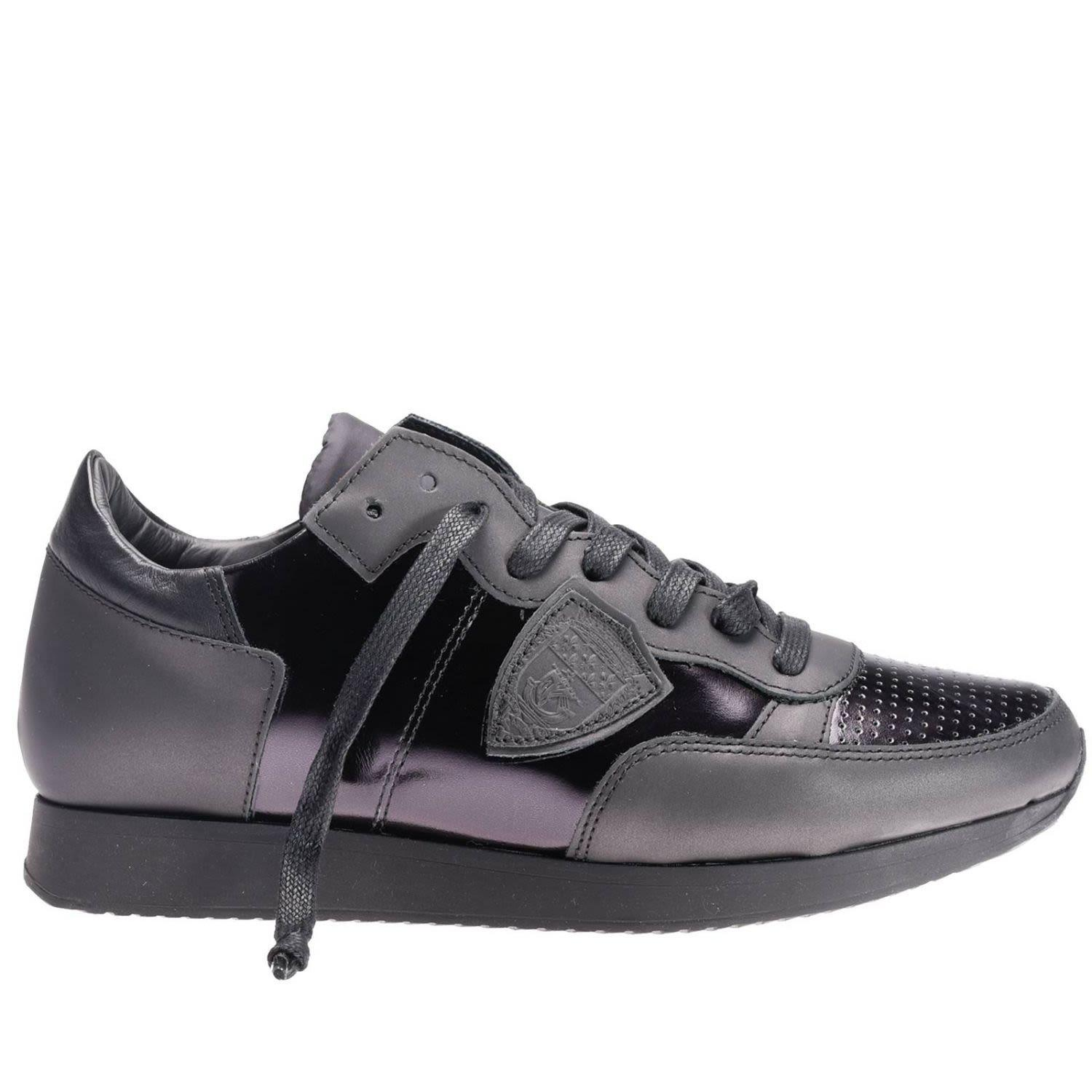 Philippe Model Sneakers Shoes Women  In Black