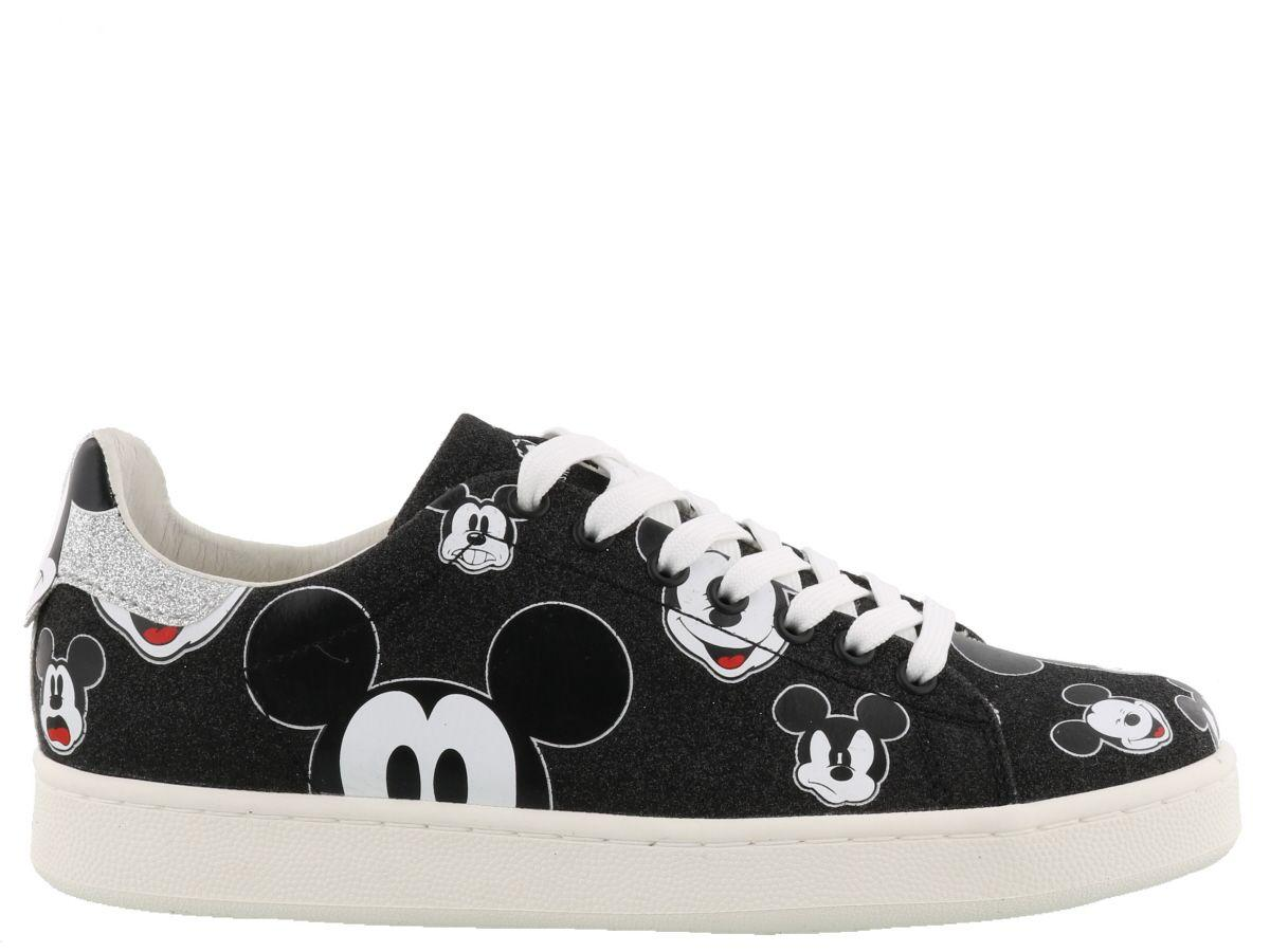 M.o.a. Master Of Arts Glitter Disney Sneakers In Multicolor