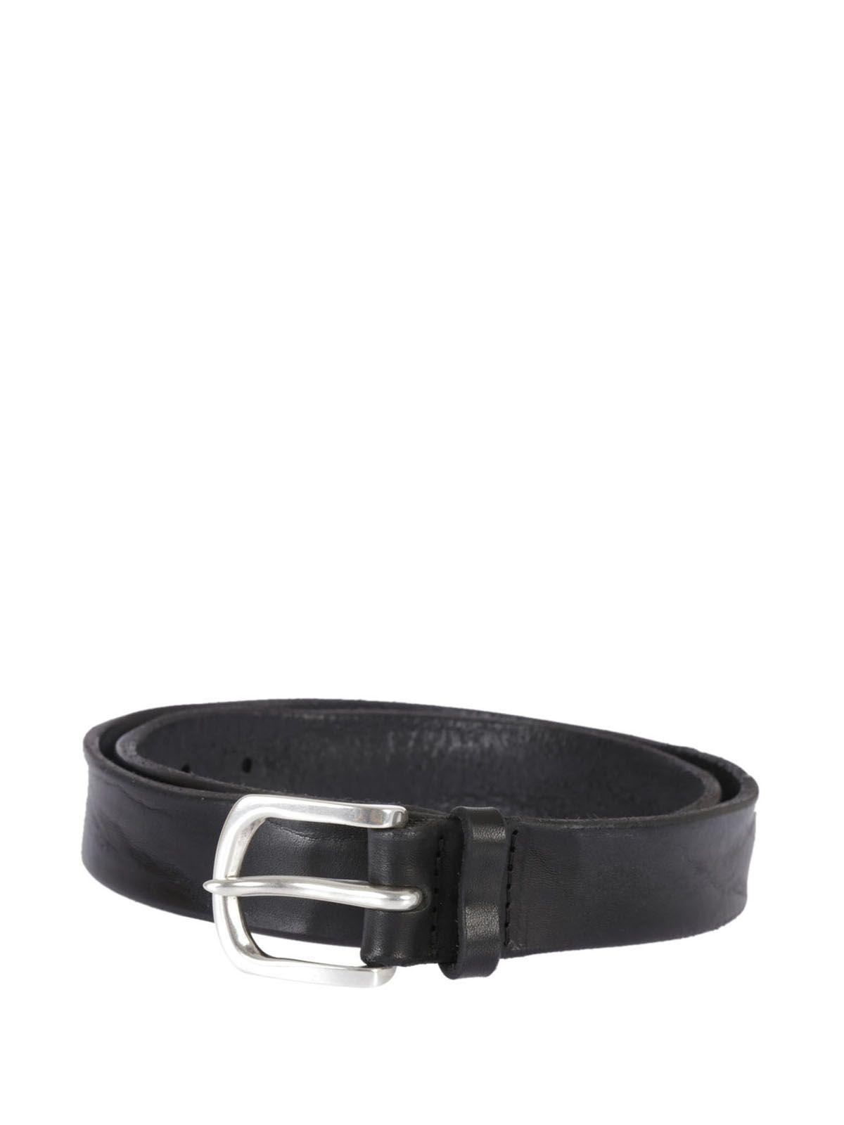 Orciani Bull Soft Belt In Black