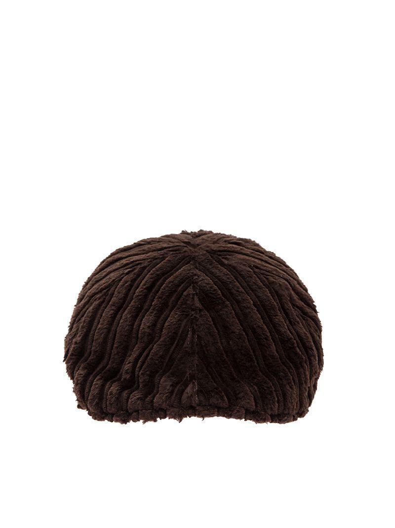 Tagliatore Donald Cotton Corduroy Flat Hat In Brown